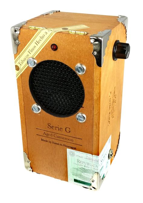 Diy Cigar Box Guitar Amplifier