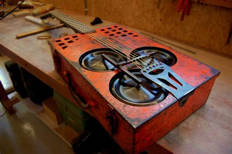 Diy Cigar Box Guitar Resonator