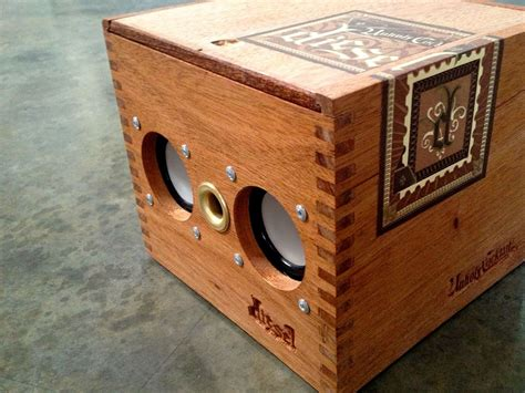Diy Cigar Box Speaker