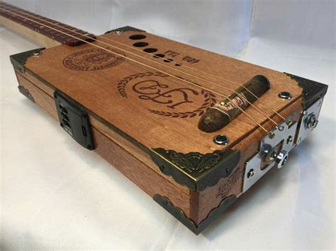 Diy Cigar Box Ukulele Electric