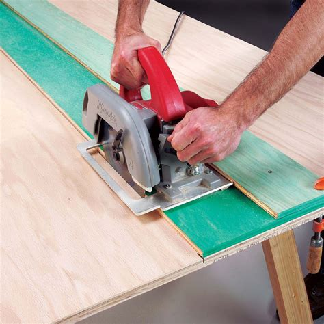 Diy Circular Saw Guide Family Handyman