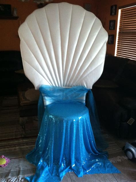 Diy Clam Shell Chair For Baby Shower