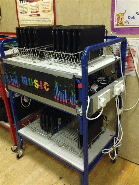 Diy Classroom Laptop Storage