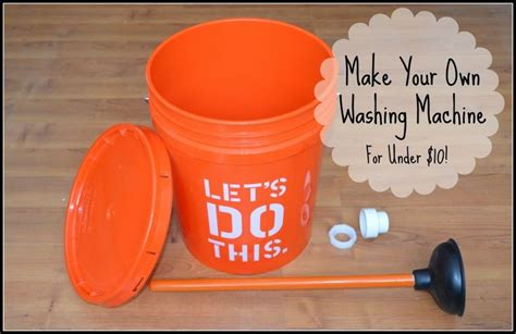 Diy Clean Clothes Washer