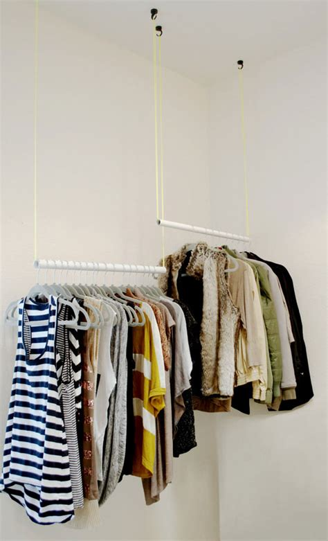 Diy Closet Ideas Single Rod To Two Rod