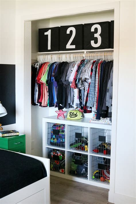 Diy Closet Organizer For Boys Ideas