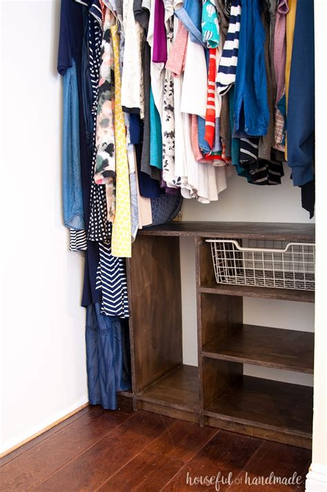 Diy Closet Organizer Projects In Metal