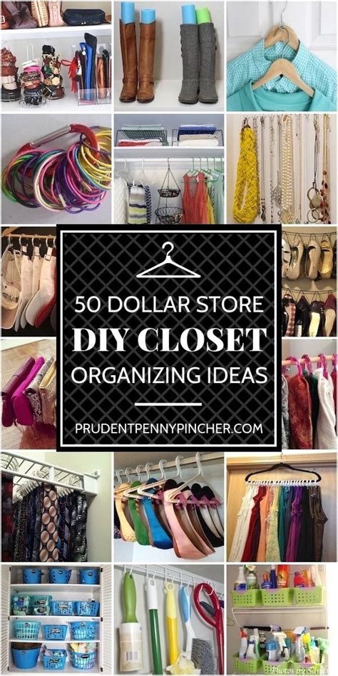 Diy Closet Storage Ideas Dollar Store