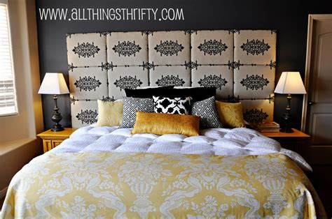 Diy Cloth Headboard Ideas