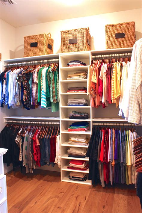 Diy Clothes Closet Organization