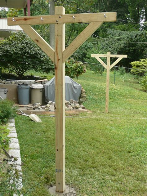 Diy Clothes Lines Outdoor