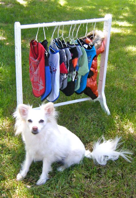Diy Clothes Rack Puppy