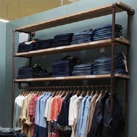 Diy Clothes Rack Wall