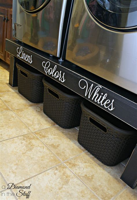 Diy Clothes Washer Pedestal