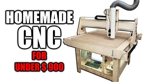 Diy Cnc Router For Under 900 Free Plans Available