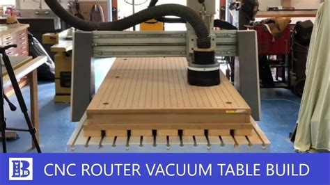 Diy Cnc Router Vacuum Bed For Cnc