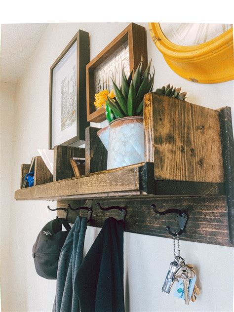 Diy Coat Rack With Cubbies
