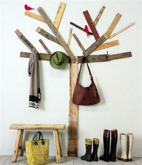 Diy Coat Trees For Entryway