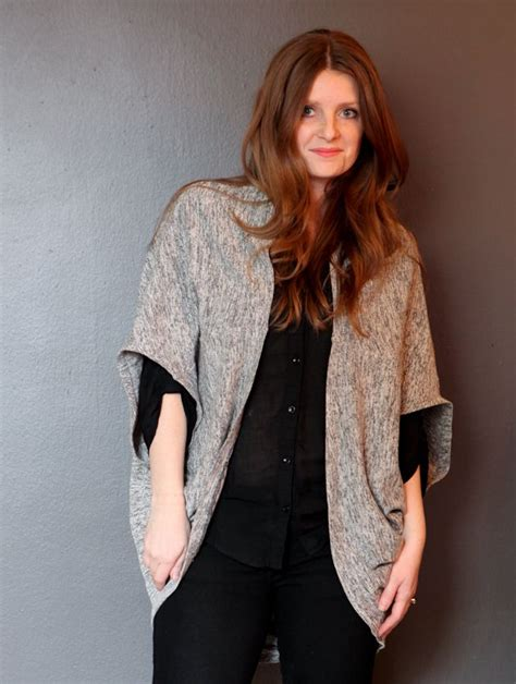Diy Cocoon Cardigan One Yard Fabric