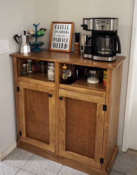 Diy Coffee Bar Cabinet