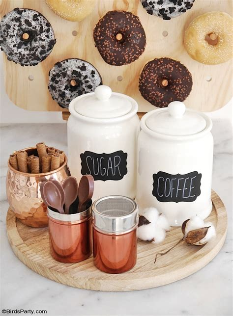 Diy Coffee Bar For Party
