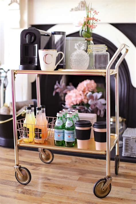 Diy Coffee Cart Pinterest