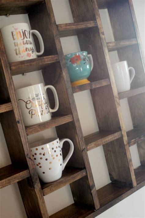 Diy Coffee Cup Shelf