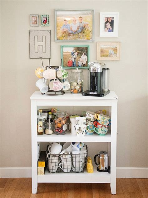 Diy Coffee Station Bookcase