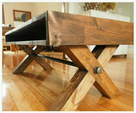 Diy Coffee Table Foot Rest