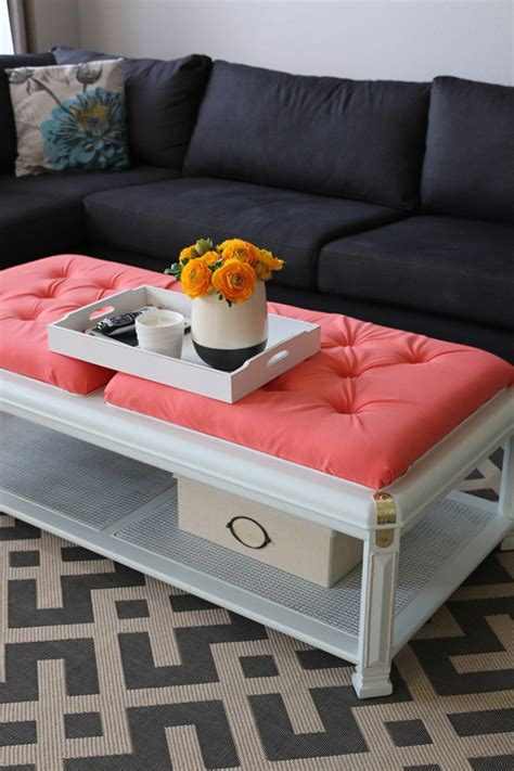 Diy Coffee Table Into Bench