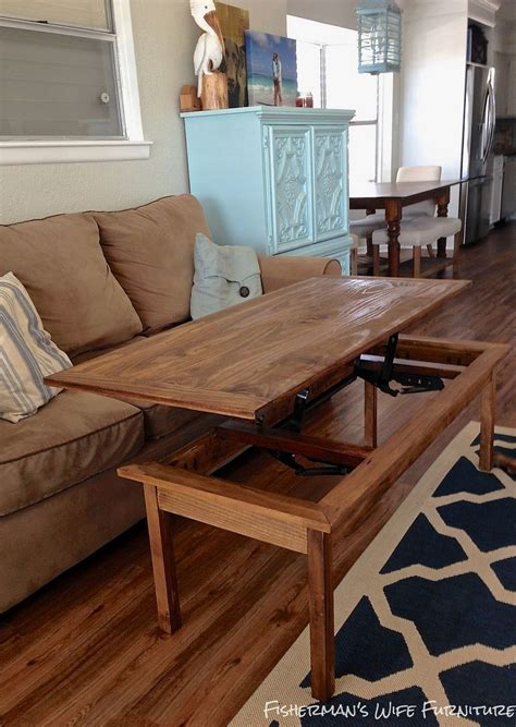 Diy Coffee Table Lcd Lift Designs