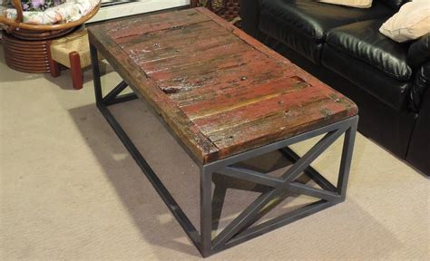 Diy Coffee Table Reclaimed Wood