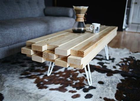 Diy Coffee Tables Made Of 2x4