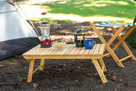 Diy Collapsible Camping Table