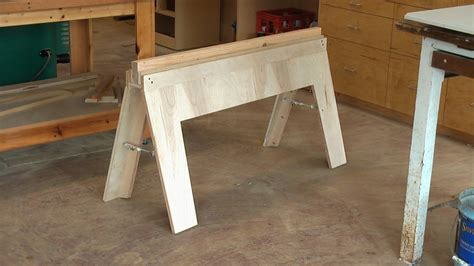 Diy Collapsible Sawhorse