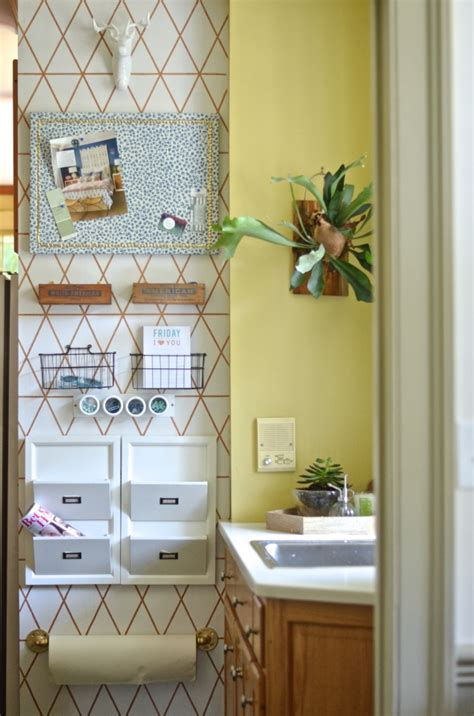 Diy Command Center For Kitchen Cabinets