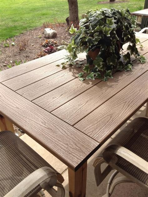 Diy Composite Decking Table