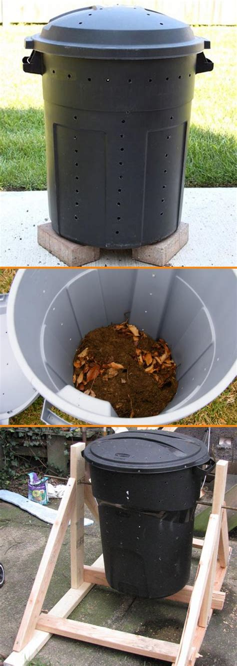 Diy Compost Bin Garbage Can