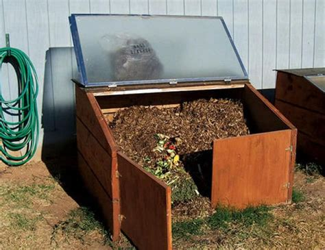 Diy Compost Bin With Glass Lid