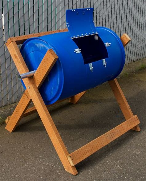 Diy Composter With Plastic Barrel