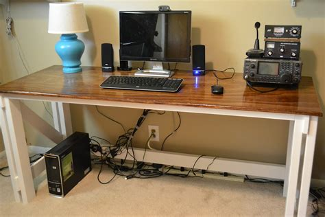 Diy Computer Home Office Desk Plans