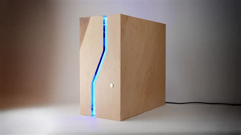 Diy Computer Tower Wood