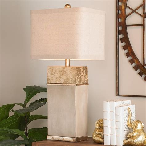 Diy Concrete Gold Table Lamp