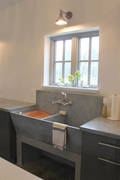 Diy Concrete Laundry Sink