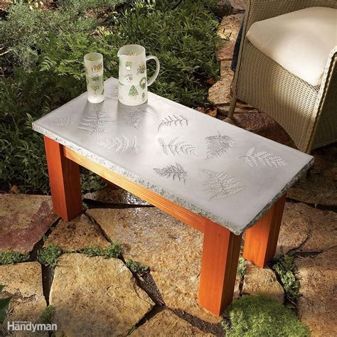 Diy Concrete Outside Table