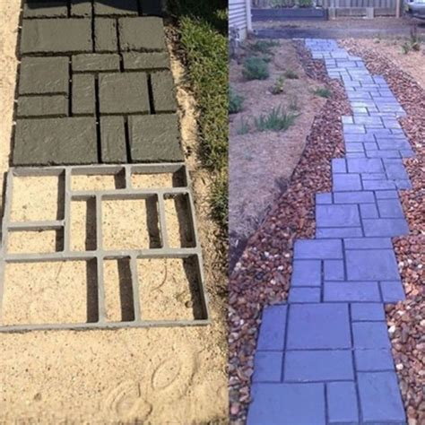 Diy Concrete Pavers Color