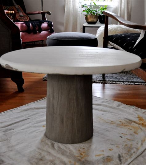 Diy Concrete Table Base