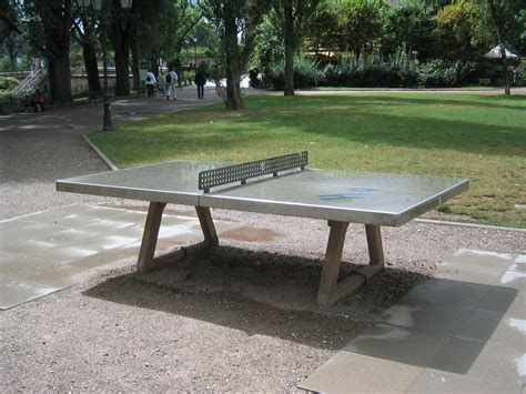 Diy Concrete Table Tennis Table