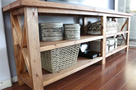 Diy Console Table By Ana White