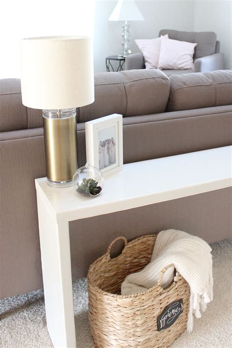 Diy Console Table How To Stabilize Pool